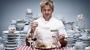 Gordon James Ramsay top 10 chefs in England