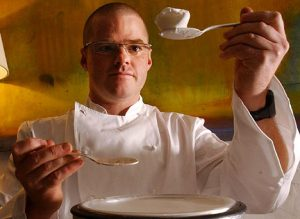 Heston Marc Blumenthal top 10 chefs in England