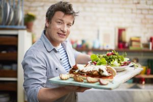 Jamie Oliver top popular British chefs