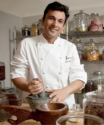 Vikas khanna top 10 chefs in Mumbai