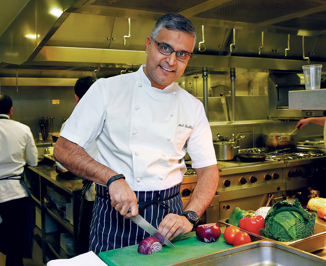 Atul Kochhar top famous celebrity chefs in Bangalore