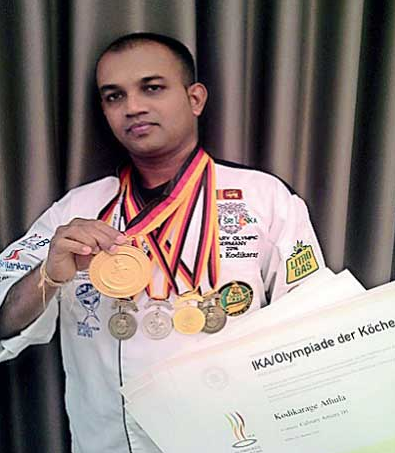 Chef Athula Kodikarage top 10 chefs in sri lanka