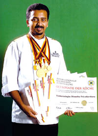 Chef Dimuthu Kumarasinghe top chefs in sri lanka