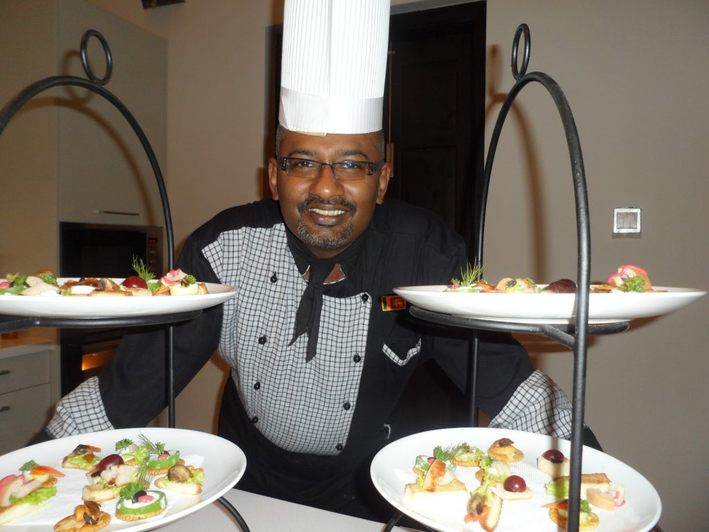 Chef Duminda top 10 chefs in Srilanka