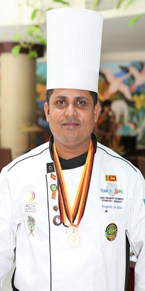 Chef Prageeth Kumara top 10 chefs in sri lanka