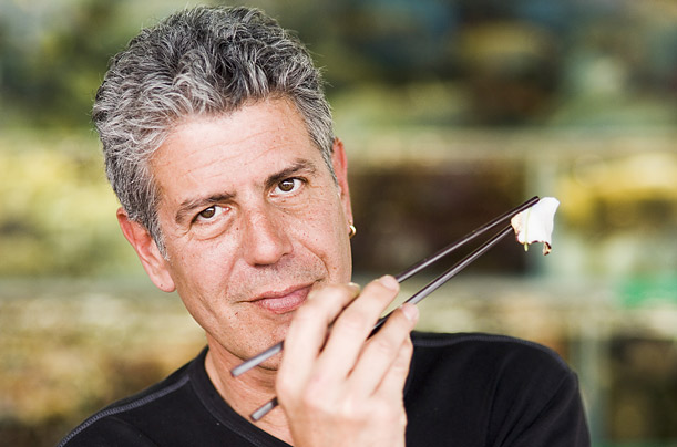 Anthony Bourdain top chefs in world