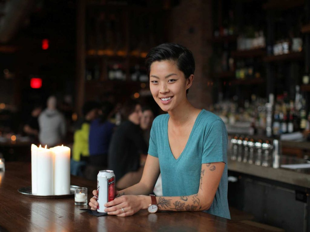 Chef Kristen Kish top ten chefs with tattoos