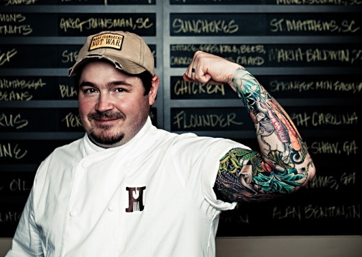 Chef-sean-brock-top-10-chefs-with-tattoos