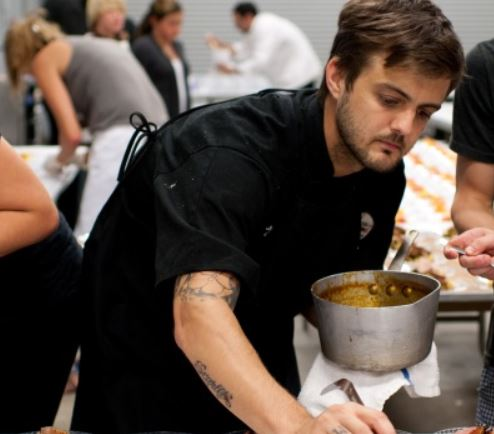 Justin Girouard top 10 chefs with tattoos