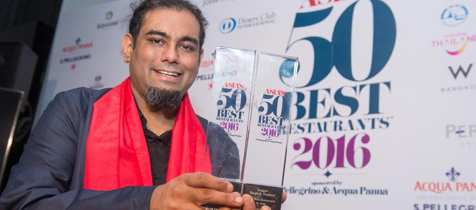 chef Gaggan Anand famous 10 chefs in asia