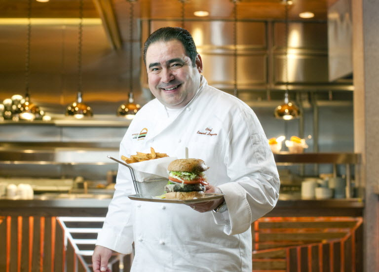 Emeril Lagasse dishwasher to top 10 chefs