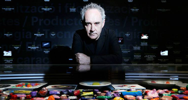 Ferran Adria dishwasher to top 10 chefs