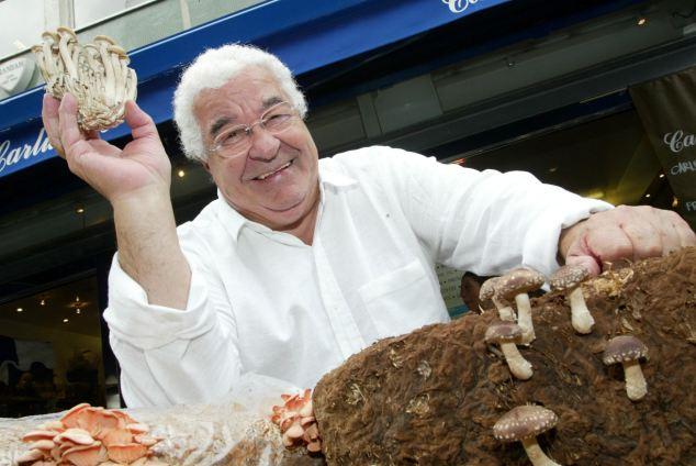 Antonio Carluccio best Italian chefs