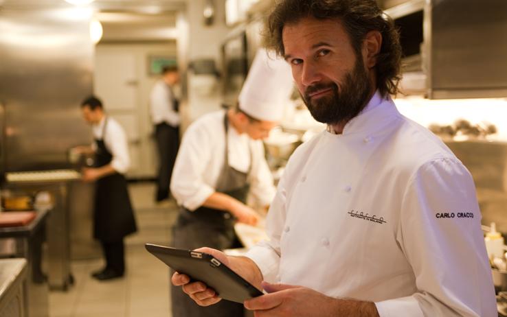 Carlo Cracco famous Italian chefs