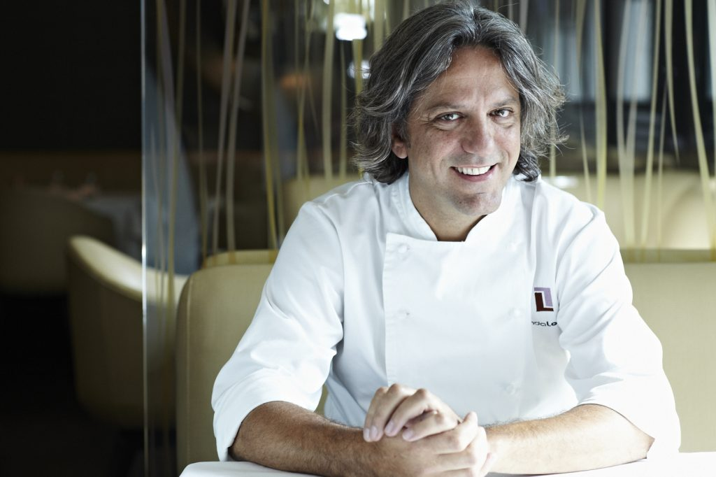 Giorgio Locatelli top 10 Italian chefs