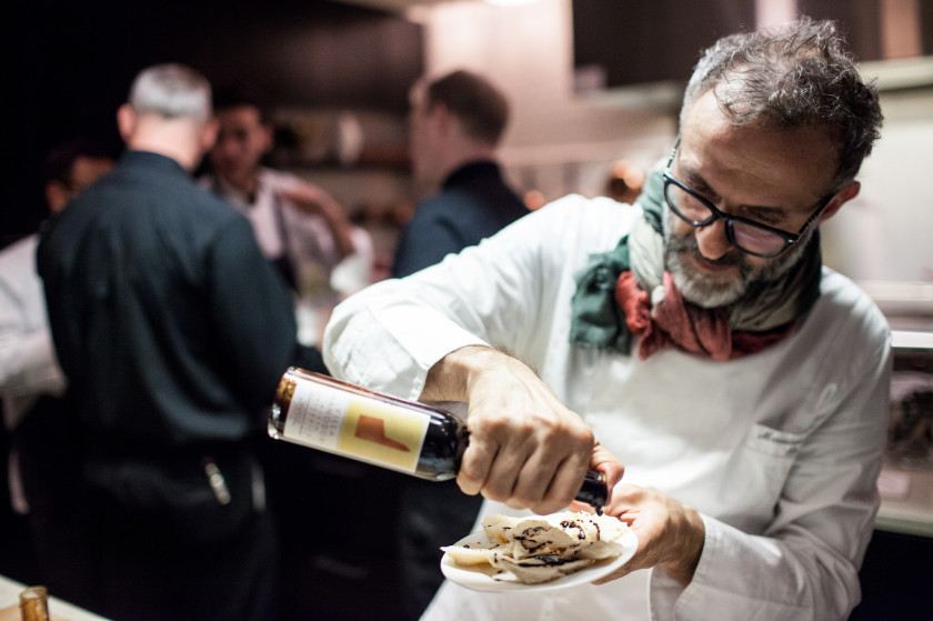 Massimo Bottura top 10 chefs in Italy