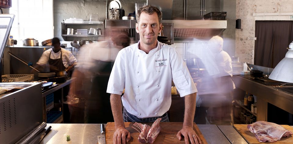 Celebrity chef Luke Dale-Roberts top ten chefs in South Africa
