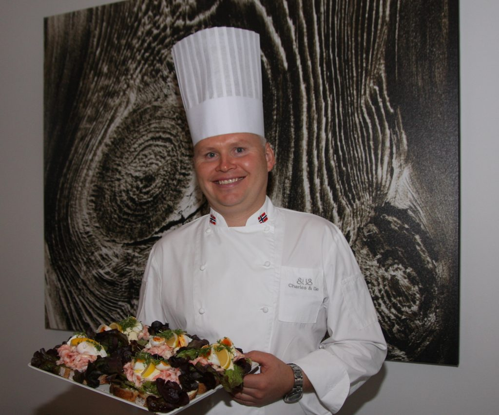 Charles Tjessem top 10 chefs in Norway