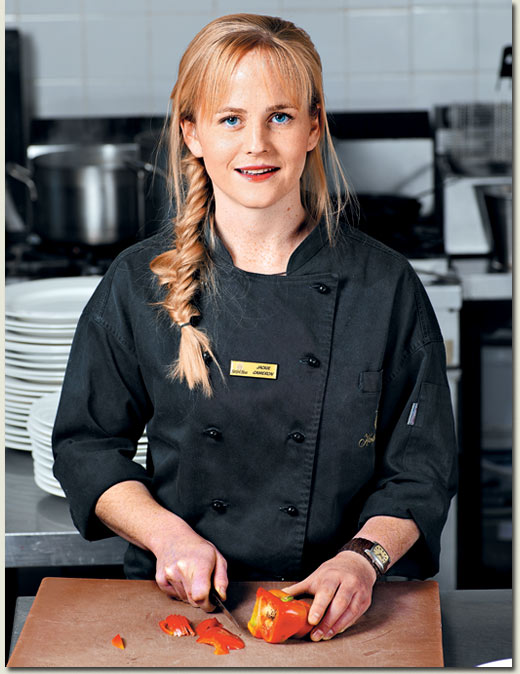 Chef Jackie Cameron top 10 chefs in South Africa