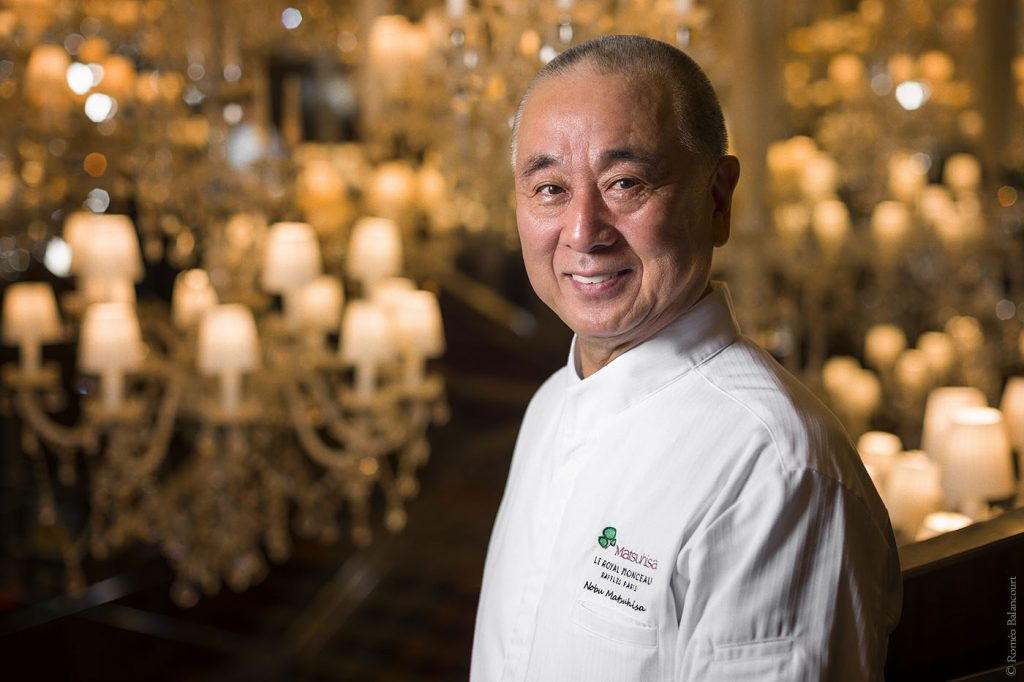 Chef Nobu Matsuhisa top celebrity chefs in Hong Kong