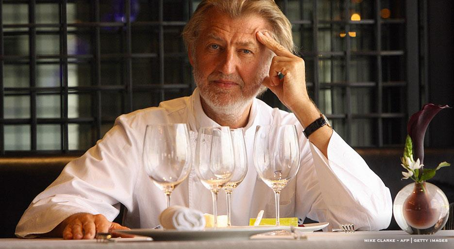 Chef Pierre Gagniere celebrity top ten chefs in Hong Kong