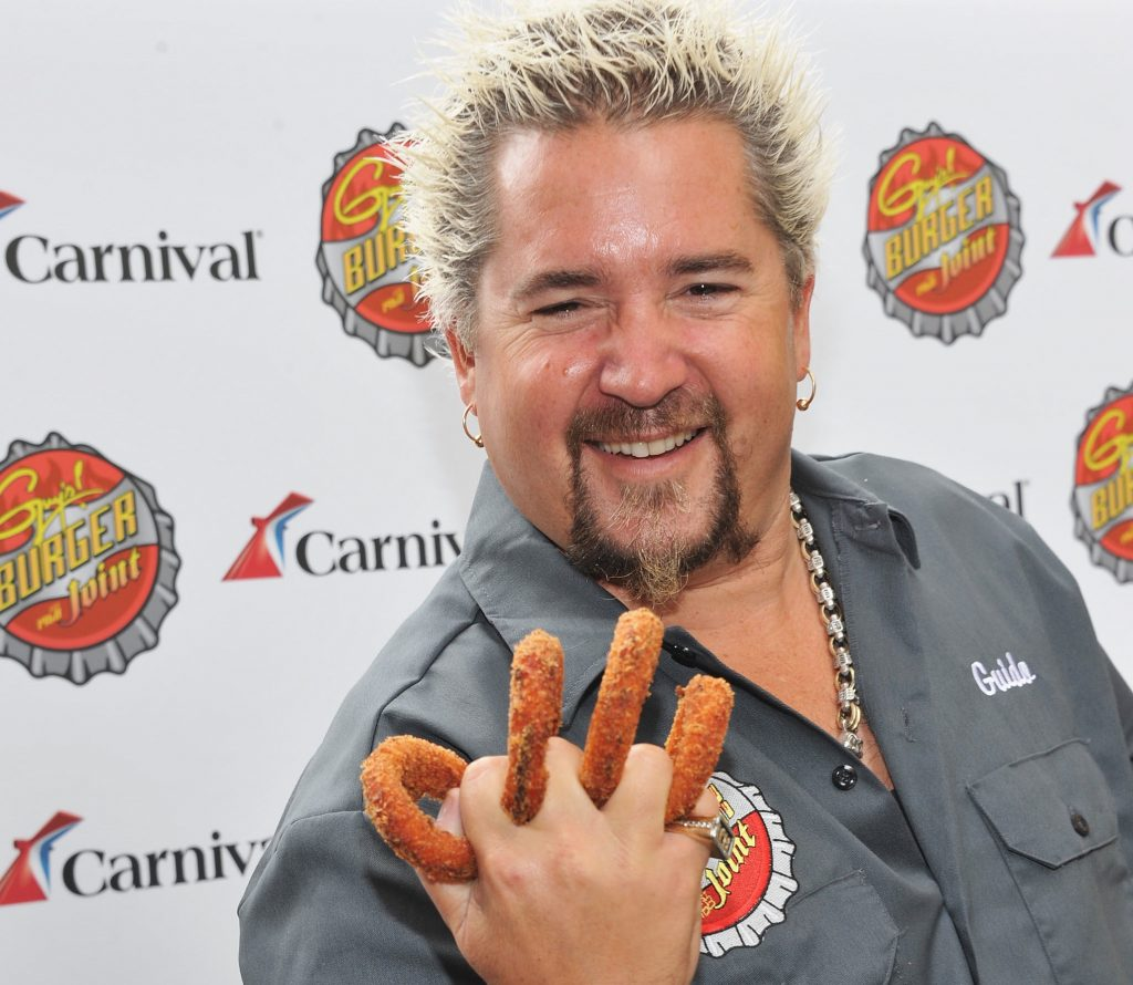 Guy Fieri Top 10 chefs in Las Vegas