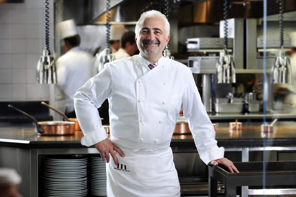 Guy SAVOY top 10 chefs in Las Vegas