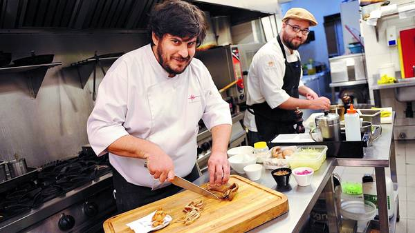 Hernán Gipponi top 10 chefs in Argentina