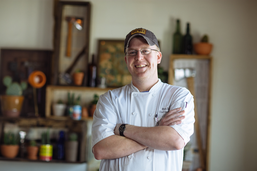 Matt Balke top 10 chefs in Dallas