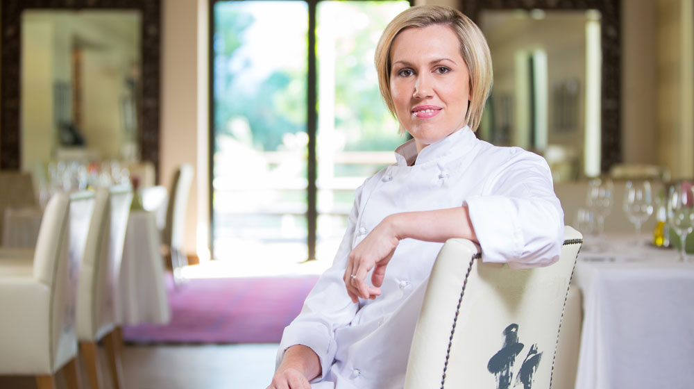 Michelle Theron top 10 chefs in South Africa