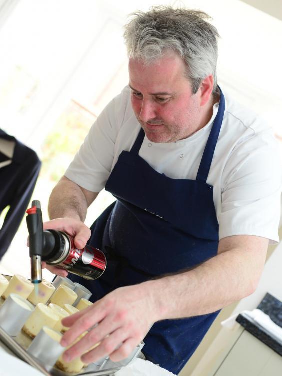 Mike Whitehurst top 10 chefs in Birmingham