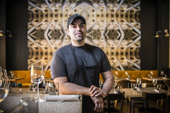 Omar Flores top 10 chefs in Dallas