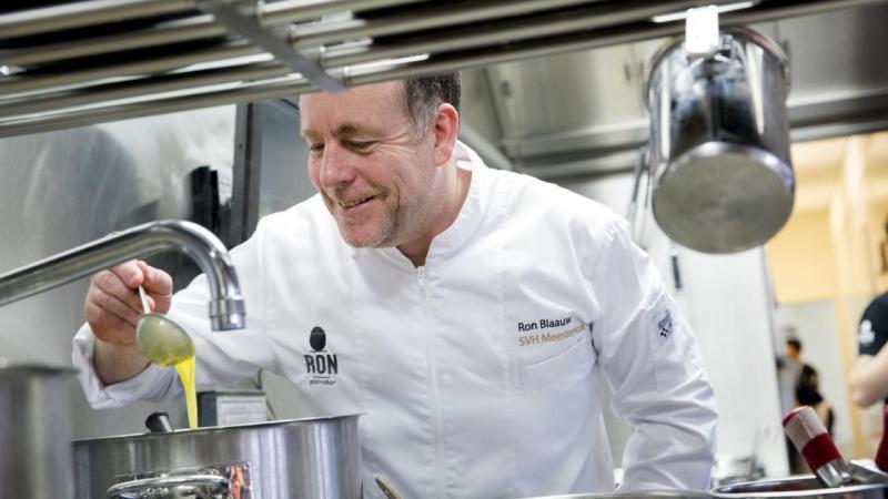 Ron Blaauw top 10 chefs in Netherlands
