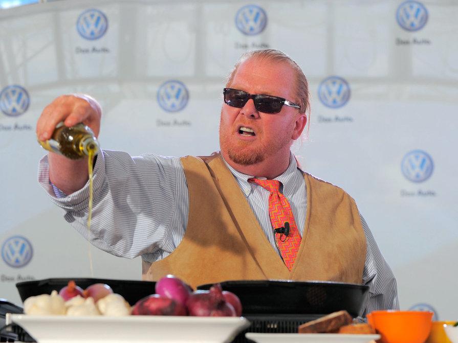 Mario Batali richest top 10 chefs in world