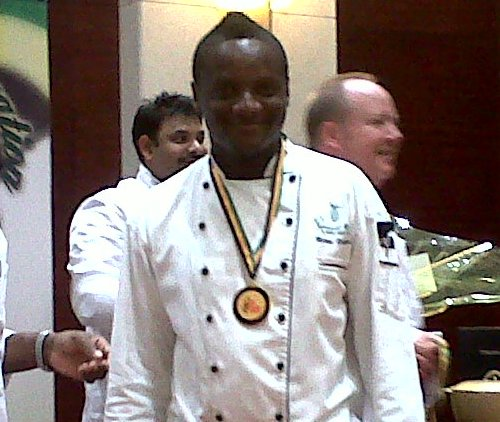 Marvin Robinson popular Top 10 chefs in Caribbean