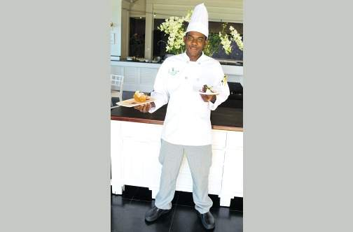 Vanessa Anglin Top 10 chefs in Caribbean