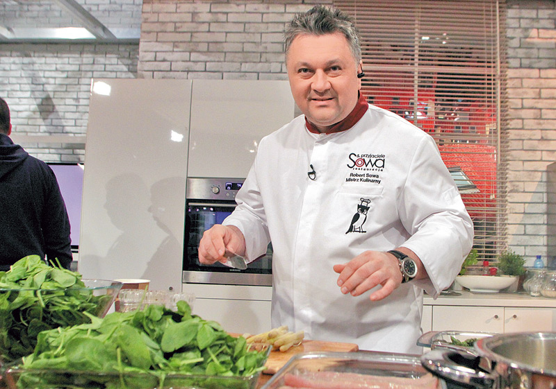 Robert Sowa Famous Top 10 chef in Poland